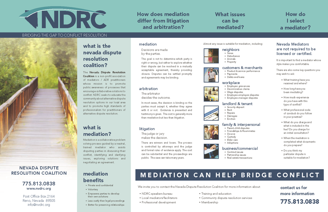 ndrc brochure bridging the gap to conflict resolution